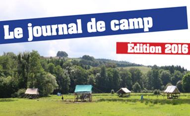 Journal de camp 2016