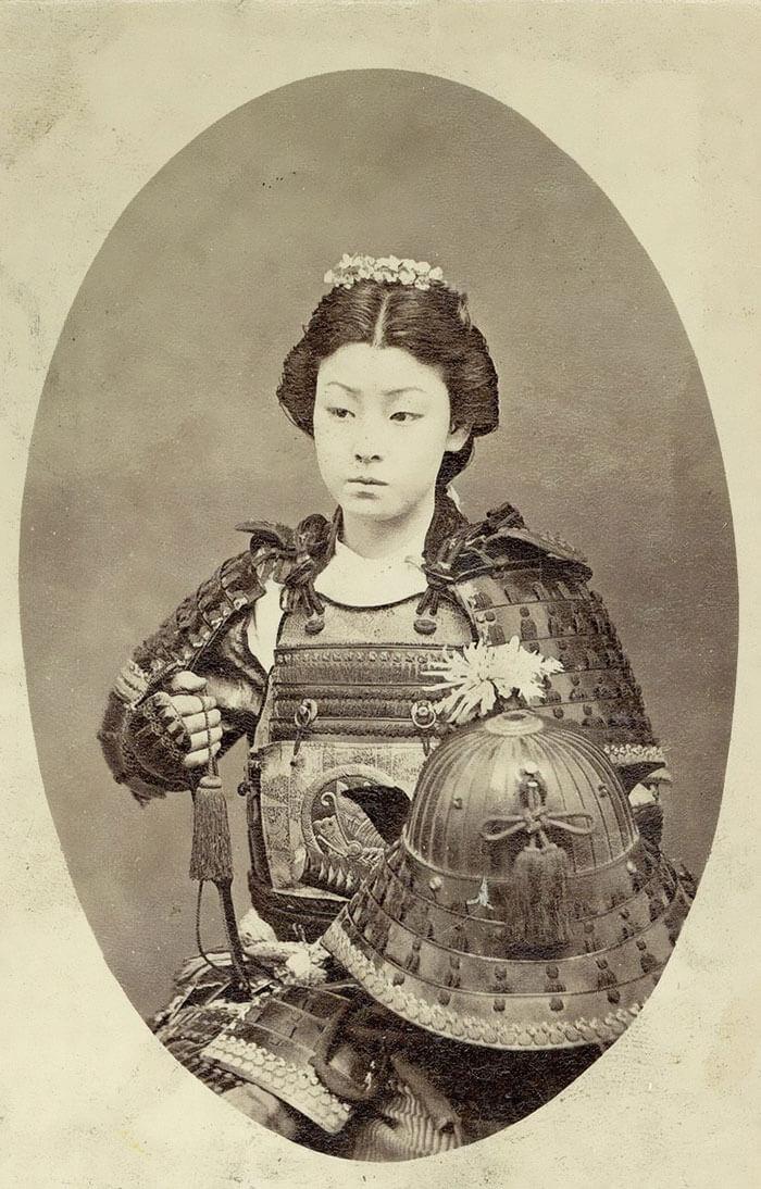 Japonaise inconnue